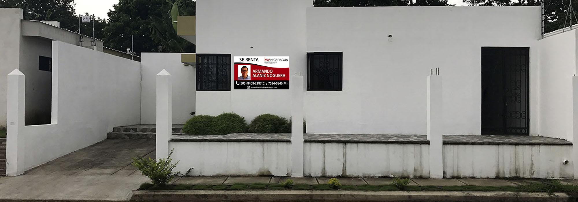 Se alquila linda casa en Reparto Villas Lindora